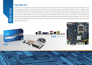 Intel 2012 Thin Mini ITX ODM