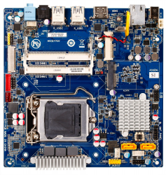 Gigabyte thin mini ITX MSQ77DI