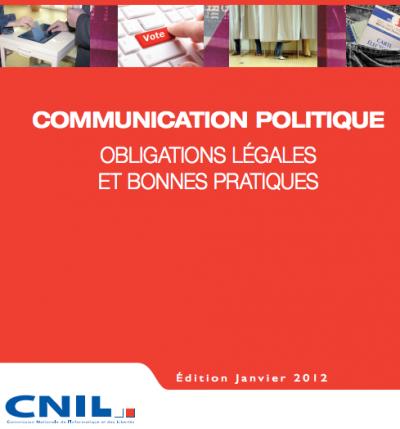 cnil guide élections