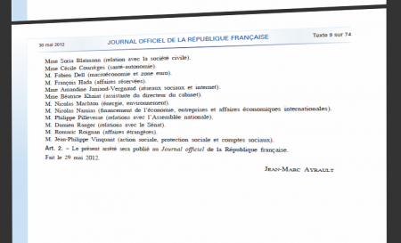 Journal officiel Amandine Janiaud-Vergnaud
