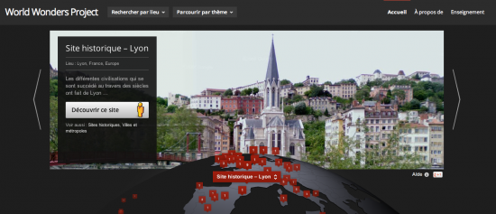 google world wonders project lyon