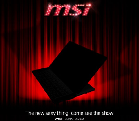 MSI Ultrabook Slider