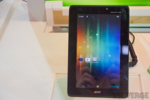 Acer Iconia Tab A110 (The Verge)
