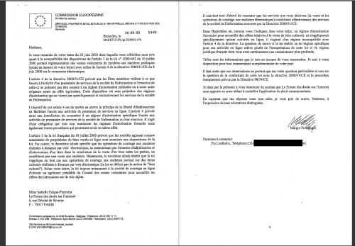 europe loi enchères ebay notification