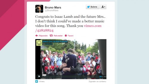 Bruno Mars Marry You