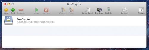 BoxCryptor OS X