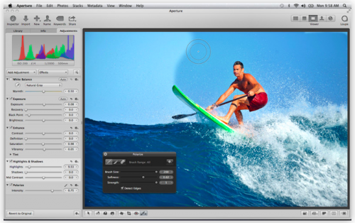 itunes aperture iphoto imovie
