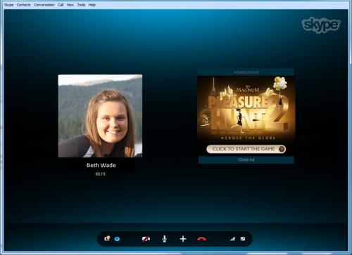 Skype Publicite