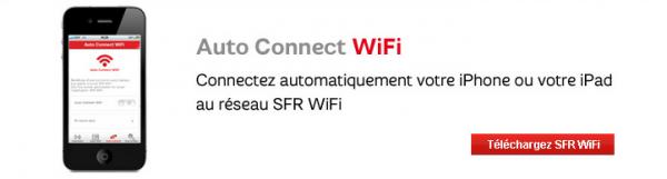 SFR WiFi autoconnect ios
