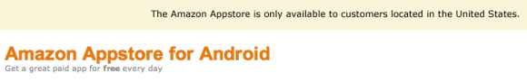 Amazon App Store Android