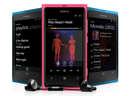 deezer windows phone 7