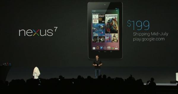 Google Nexus 7 199 $