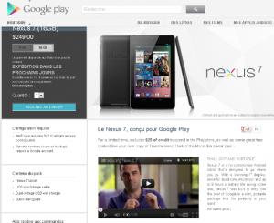 nexus google 7