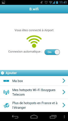 B.wifi bouygues telecom android