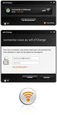 orange application wifi ordinateur