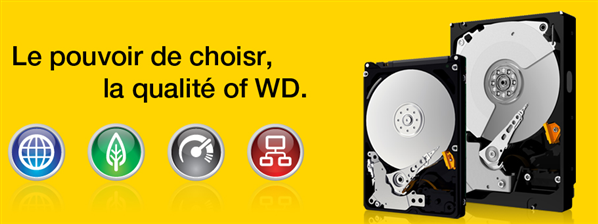 wd disque dur gamme