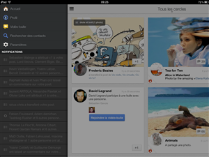 Google+ iOS iPad