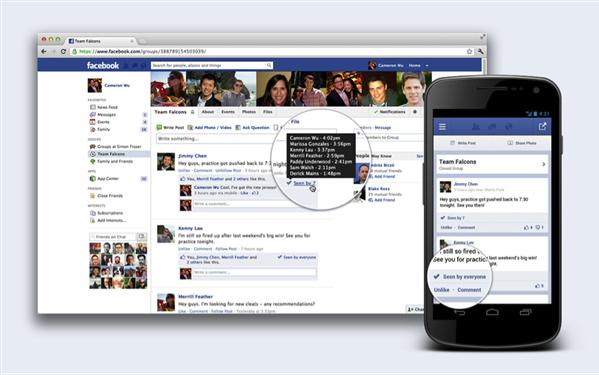 facebook surveiller publication groupe