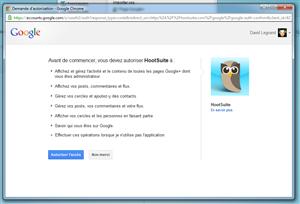 Hootsuite Google+