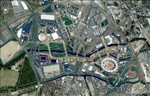 Google maps jeux olympiques
