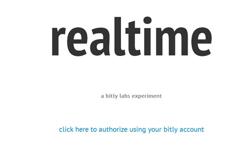 realtime bitly