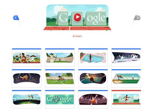 google doodle jeux olympiques