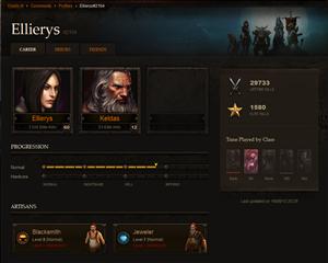 Diablo III Fiche Héros
