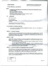 copie privée contrat exonération