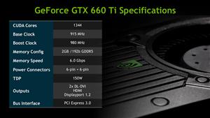 GeForce GTX 660 Ti NVIDIA Slides