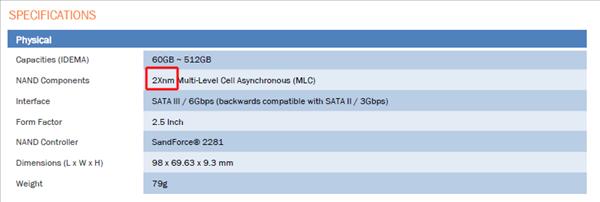 ocz agility 3 2x nm nand
