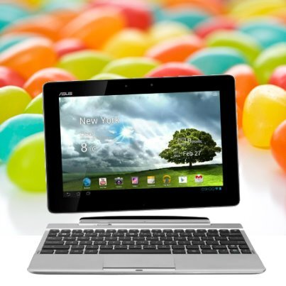 transformer pad tf300T jelly bean