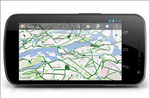 google maps android navigation velo
