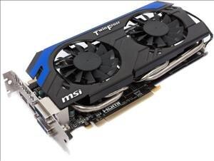 MSI GeForce GTX 660 Fuite
