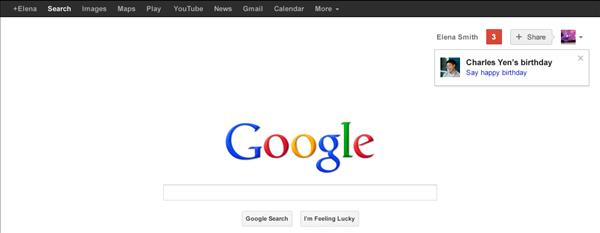 google plus anniversaire