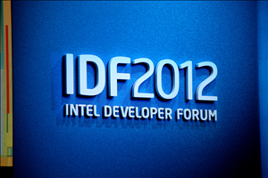 Intel IDF Day 2 McAfee Renée James Keynote