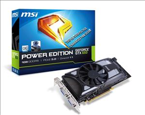 MSI GTX 650 1GD5/OC