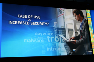 Intel IDF 2012 Day 3 Fujitsu PalmSecure