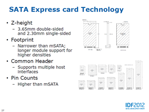 Intel Ultrabook SATA Express NGFF