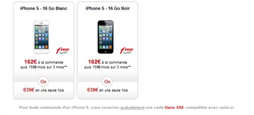 free mobile nano sim