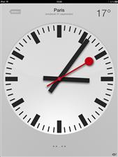 ios6 horloge
