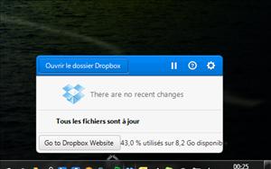 dropbox nouvelle interface