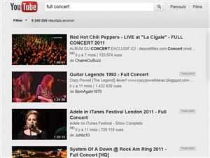youtube concert