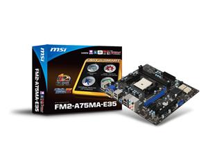 MSI FM2-A75MA-E35