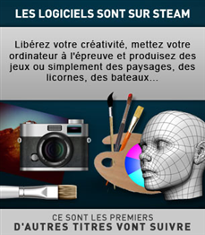 Steam logiciels