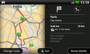 tomtom navigation android