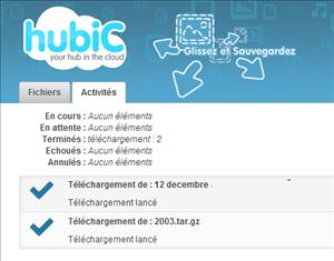 hubic web app
