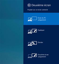 Charme Windows 8 Second écran