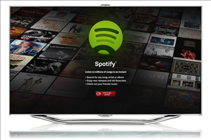 spotify smart tv samsung