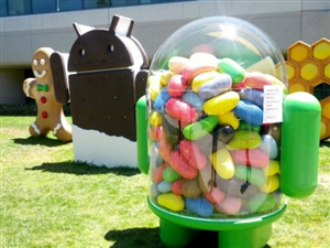 Jelly Bean statue