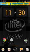 Orange avec Intel Inside ICS